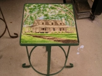 Wood-cottage-tile-table